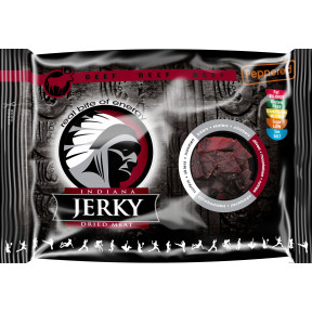 Indiana Jerky Peppered Beef Jerky 100 g