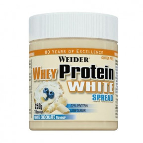 Crema de Chocolate blanco Weider WheyProtein White Choco Spread