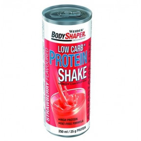 Low Carb Protein Shake Strawberry Flavour 250 ml