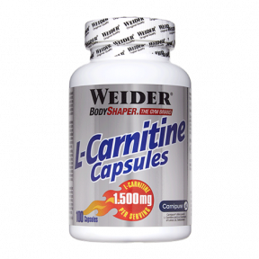L-Carnitine Caps 100 Capsules de 1.500mg Weider