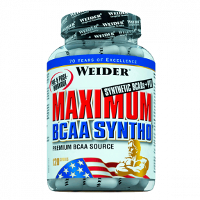 Weider Maximum BCAA Syntho 120 capsules