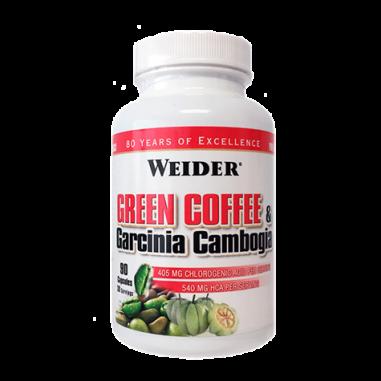 Weider Green Coffee & Garcinia Cambogia 90 capsules