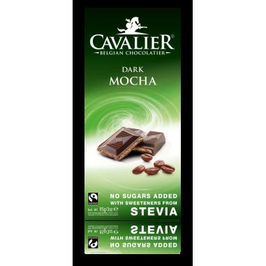Cavalier Dark chocolate with mocha filling 85 g