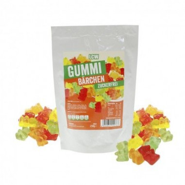 LCW Low Carb Gummy Bears 250 g