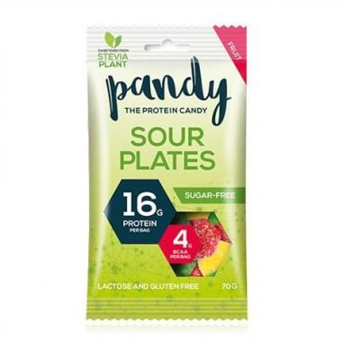 Bonbons Protéinés Sour Plates 70g Pandy