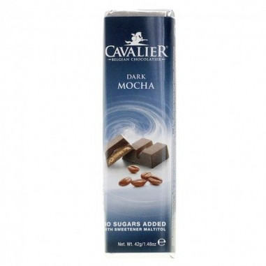 Cavalier Dark chocolate with Mocha Bar 40 g