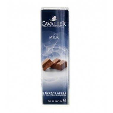 Cavalier milk chocolate Bar 44 g