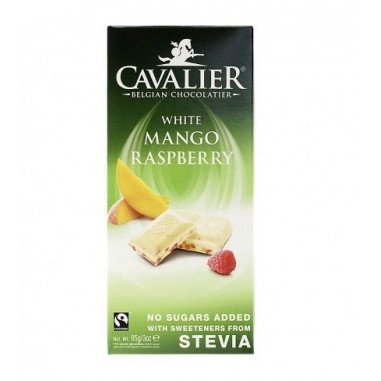 Cavalier Dark chocolate with stevia and berries 85 g