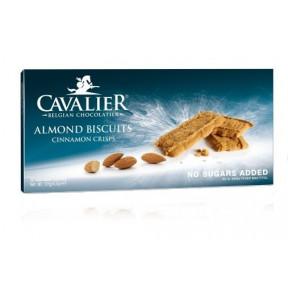 Cavalier Sugar free Cinnamon Almond Crisp Bisquits (Speculoos) 125 g