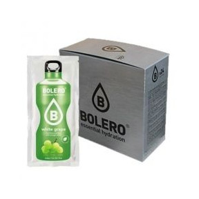 Pack 24 sobres Bebidas Bolero Uva Blanca