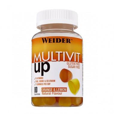Weider Multivit Up 80 gummies Vitamin and Mineral Complex