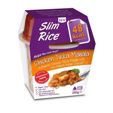 Slim Pasta Arroz con Pollo Tikka Masala 250 g