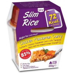 Slim Pasta Arroz con Pollo al Curry Massaman 250 g