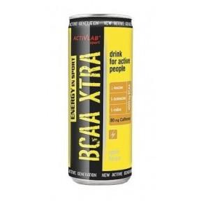 Bebida BCAA Xtra Drink + Cafeína Activlab 250 ml