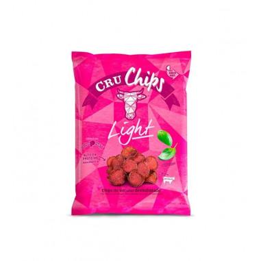 Chips de Vacuno Deshidratado CruChips Light 40g