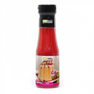 Smart Foods 0% Strawberry Syrup 350 ml