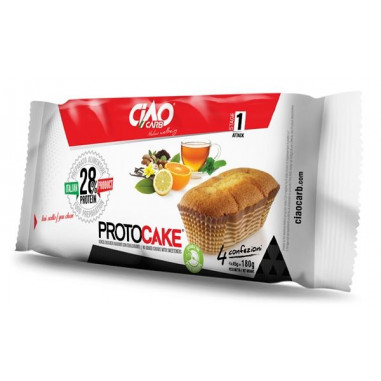 Gâteau CiaoCarb Protocake Phase 1 Vanille-Citron
