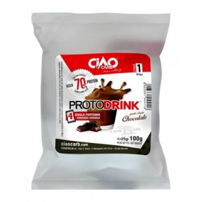 Protodrink Chocolat CiaoCarb Phase 1 100 g 4 unités
