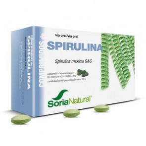 Spirulina Comprimidos 600 mg 60 comprimidos