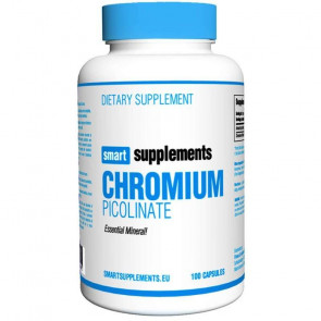 Picolinate de chrome Smart Supplements 100 capsules