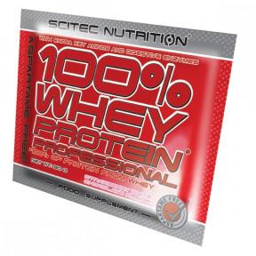 100% Whey Professional Scitec Nutrition Creme d'ananes unidose 30 g
