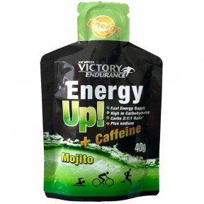Energy Up! + Caffeine 40g Gel Victory Endurance Mojito