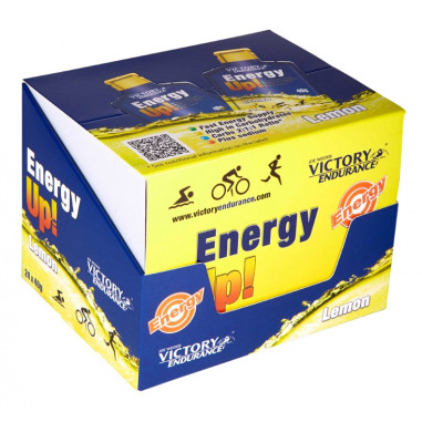Pack 24 x 40g Energy Up! Gel Victory Endurance limão