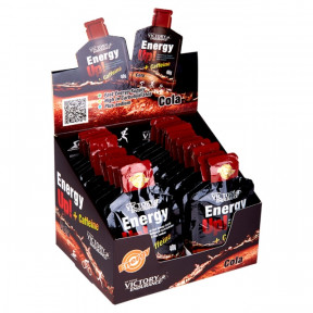 Caja 24 x 40g Energy Up! + Cafeína Gel Victory Endurance Cola