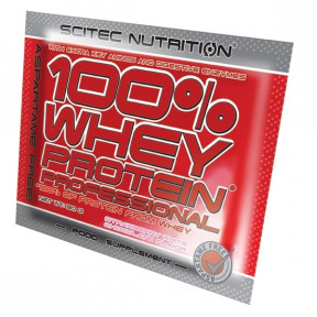 100% Whey Professional Scitec Nutrition Chocolate Avelã monodose 30 g