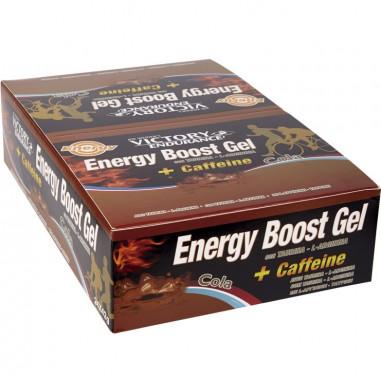 Energy Boost Gel + Caffeine Cola 24 x 42g Pack Victory Endurance