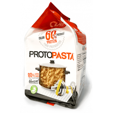 Pasta CiaoCarb Protopasta Phase 1 Fusilli 250 g 5 portions individuelles 50g