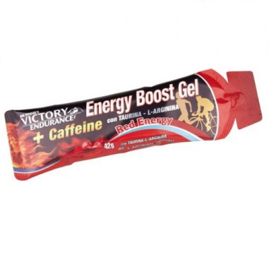 Energy Boost Gel + Cafeina Red Energy 42g Victory Endurance