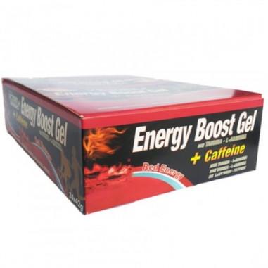 Caja 24 x 42g Energy Boost Gel + Cafeína Red Energy Victory Endurance