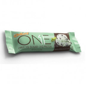Bar Oh Yeah! ONE sabor de Menta com gotas de Chocolate 60 g