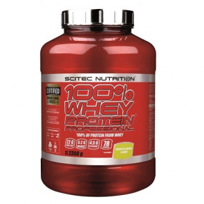 100% Whey Professional Scitec Nutrition Creme d'Ananes 2350 g