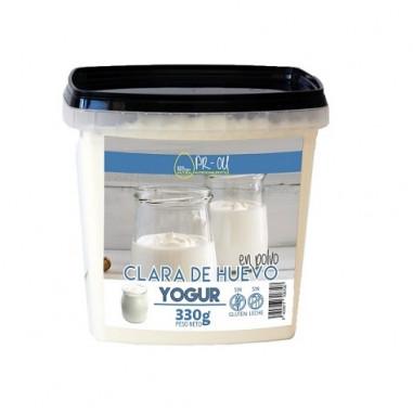 PR-OU Clara de Ovo em Pó Iogurte 330g