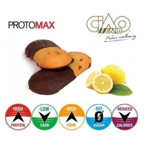 Pack de 10 Galletas CiaoCarb Protomax Lemonchoc Fase 1 Vainilla-Limón y Chocolate