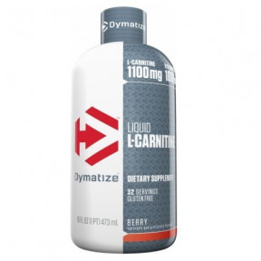 L-Carnitine 1100 Liquide Dymatize Goût Baies 473 ml