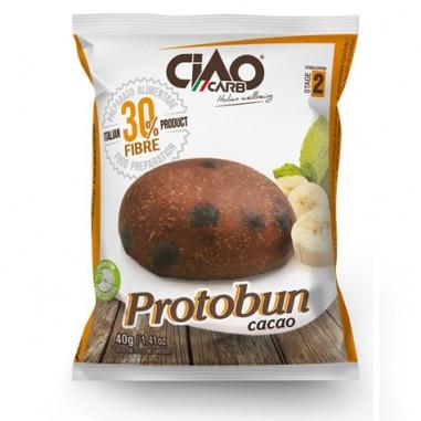 Petit Pain CiaoCarb Protobun Phase 2 Cacao 1 unité 40 g