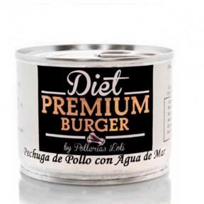 Diet Premium Preservado Peito de Frango com Água do Mar 100 g