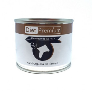 Hamburguesa de Ternera en Conserva 100 g Diet Premium