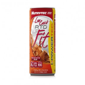 Batido Low Carb RTD Fit Powertec Sabor Galletas con Crema Nutrytec 250 ml