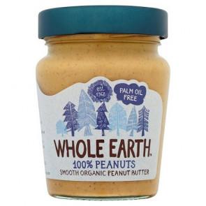 Crema de Cacahuete Suave Bio Whole Earth 227 g
