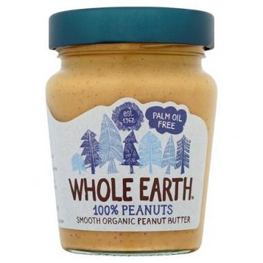 Crema de Cacahuete Bio Whole Earth 227 g