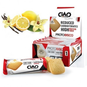 Pack de 10 Biscuits CiaoCarb Protobisco Phase 1 Vanille Citron