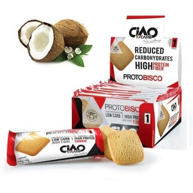 Pack de 10 Galletas CiaoCarb Protobisco Fase 1 Coco