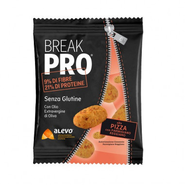 Snack Salado Break Pro sabor Pizza Alevo 30 g