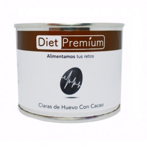 Clara de Ovo com Cacau Enlatada Diet Premium 128 g