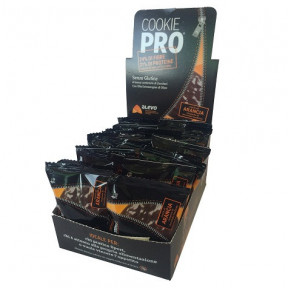 Pack de 24 Galletas Cookie Pro Naranja Amarga Cubierta de Chocolate Negro Alevo