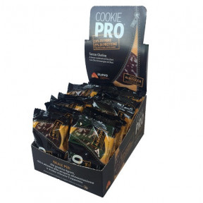 Pack of 24 Alevo Cookie Pro Apricot Covered with Dark Chocolate